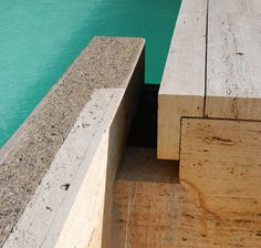 Virginia_Duran_Blog_La Jolla Kahn Water Detail #kahn #salk #architecture #louis #institute