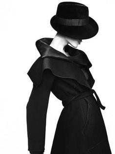 Fashion photography(Giorgio Armani fall winter 2012 Ad Campaign) #fashion #armani