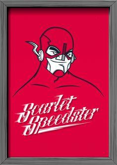 Oh, my hero! Superheroes Tribute on Behance