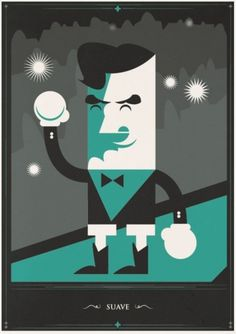 The Boxer - Defringe #illustration