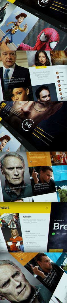 Concept Design for IMDb #layout