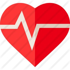See more icon inspiration related to health, heart, heartbeat, wellness, healthcare and medical, health clinic, heart shape, medical and healthy on Flaticon.