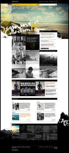 Web | Soöruz Concept on Web Design Served #web design