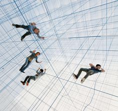 numen/for use installs inhabitable string sculpture inside inflatable bubble #art #installation