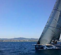 La Costa Daurada navega