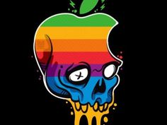 Dribbble - Hackintosh Limited Edition Posters by lacko illustration #illustration #posters #skull #apple