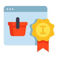 See more icon inspiration related to reward, commerce and shopping, ecommerce, online shopping, web page, browser, website, delivery, purchase, online, online shop, shop, shopping, screen, monitor and computer on Flaticon.