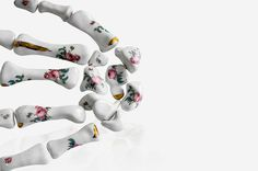 Unmovable - Kapka - Pierwsze źródło modowej inspiracji #ceramic #floral #bones