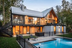Canopy House by Thellend Fortin Architects