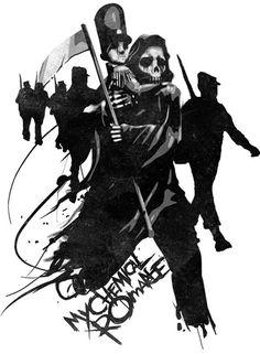 Click to Close #reaper #death #mcr #munkone