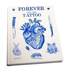 bookAdditionalPackshotsImage #heart #book #cat #cover #gestalten #tattoo #rabbit #rat #knife