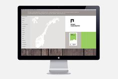 Norway's National Parks by Snøhetta #web design #website #site