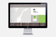 Norway's National Parks by Snøhetta #web design #website #site
