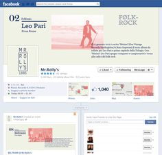 Mr'Rolly's Branding Identity #facebook #adv #branding
