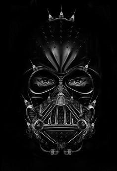 Nicolas Obery Vader #darth #illustration #vader #geek