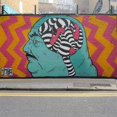 Lookwork: Library #gif #street art
