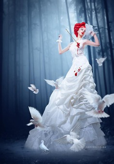 ❤️ 50 Photo Manipulation Examples   White Dress