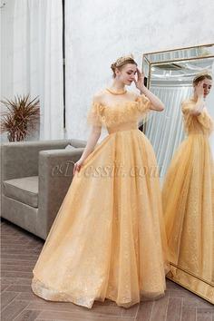 eDressit New Gold Off Shoulder Shiny Party Evening Prom Dress (36224224)