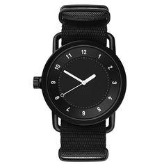 black no 1 military wristwatchblack #inspiration #creative #simplicity #design #photography #industrial #minimal #watch #fashion #beautiful #style