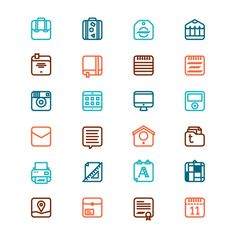 Things on Icons on Behance #3443