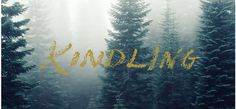 Kindling #Logo #Handwritten