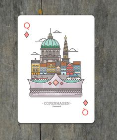 Coppenhagen_card #illustration