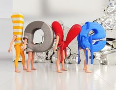 Love 3D on Typography Served #costumes #photography #love #typography