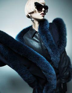 Ilda Lingdqvist for Plaza Magazine by Ceen Wahren #fashion #photography