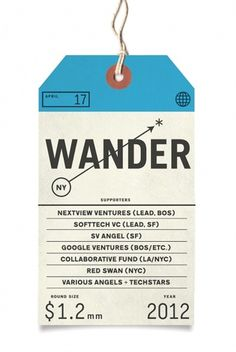 Wander #travel #tag #keenan cummings #wander