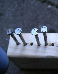 pacman nails :) #nails #pacman