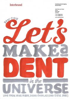 We Love Typography #dent