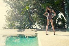 Forrest & Bob Image Campaign SS10 | Henrik Adamsen #model #adamsen #woman #pool #henrik #fashion
