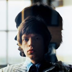 """Silhouette"" Mick Jagger at Home, London, 1965"