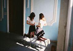 YULIA KRIVICH #woman #krivich #yulia #girls #women #photography #brown #fashion #blue #light
