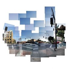 Burbank : Adrineh Asadurian #abstract #downtown #burbank #digital #cubism #photography #tiling