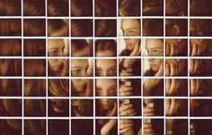 Photo Collage Portraits by Maurizio Galimberti