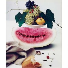 Every reform movement has a lunatic fringe #food #photography #nature #morte #watermelon