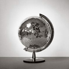 do you think i'm disco #juxtaposition #photography #disco #globe