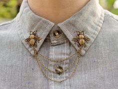#bee #collar #jewelry