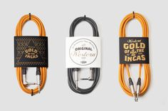 Gold of the Incas – Guitar Leads #music #packaging #guitar #leads