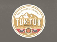 Tuk tuk badges #badge