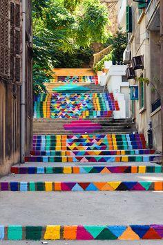 beirut #pattern #steps