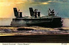 All sizes | Seaspeed-Hovercraft-Princess-Margaret | Flickr - Photo Sharing! #british #branding #seaspeed #transport #rail #identity #hovercraft
