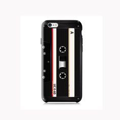 Black Retro Cassette Tape Case Design iPhone case #phonecase #design