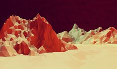 Low Poly [Non Isometric] on Behance #low #poly