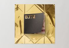 Bulletin 172 B172 3 #print #cover #gold #editorial #foil