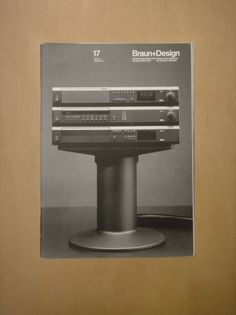 Braun+Design 17 (via Alphanumeric.) #products #design #graphic #des #braun #magazine