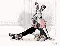 Editorial Illustrations by Cristina Alonso