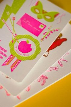 Lovesick or Lovestruck? | Lovely Stationery #letterpress #the hungry workshop