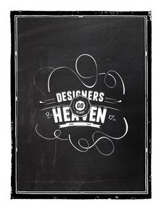 Dsgners to lucky heaven. #white #b&w #kucharczyk #black #kamil #illustration #and #typography